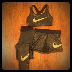 3 Piece Nike Pro Set